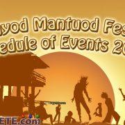 Mantuod Festival 2016 in Manjuyod