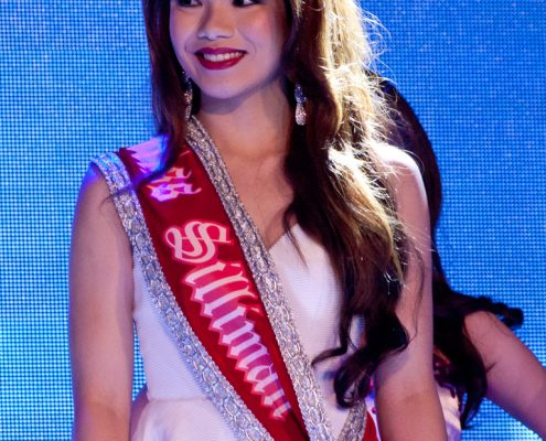 Miss Silliman 2015 Miss Genin Raya Amiscaray from the College of Business Administration.