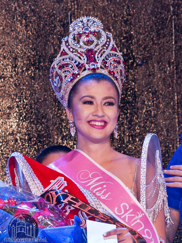 Miss Silliman 2016 Miss Aiko Kitane of (CBA) Collage of Business Administration