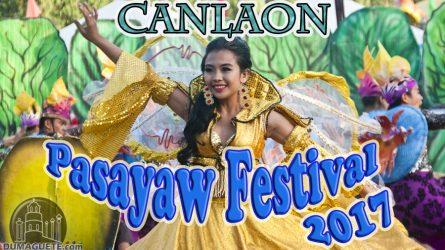 Canlaon -Pasayaw Festival 2017