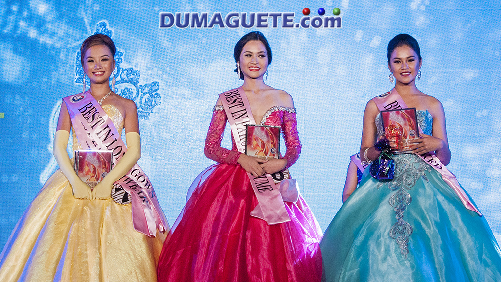 Miss Sta Catalina 2017 - Gown