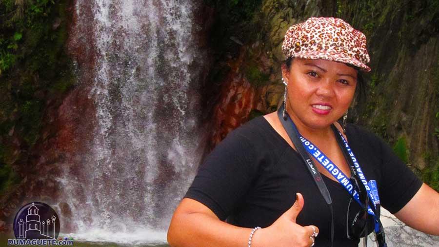 Boss-in-Pulangbato-Falls-Valencia