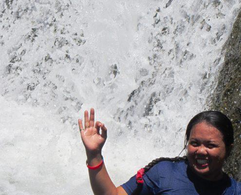 Pinucauan Falls Vallehermoso