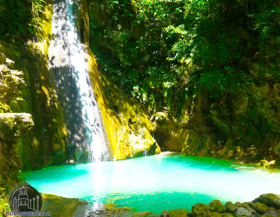 Sayaw Waterfalls - Enchanted Falls - Vallehermoso - Negros Oriental