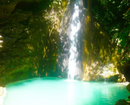 Vallehermoso Sayaw Enchanted Waterfalls