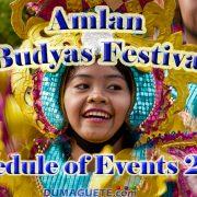 Amlan Fiesta Celebration 2017 Budyas Festival