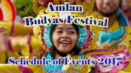 Budyas Festival and Tandayag Amlan Fiesta 2017