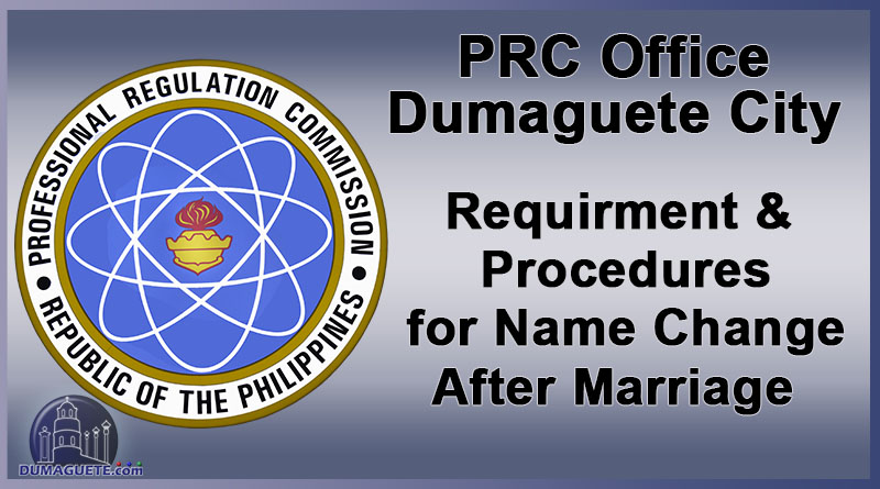 PRC Name Change requirments and procedures after marriage