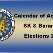 SK and Barangay Election 2017