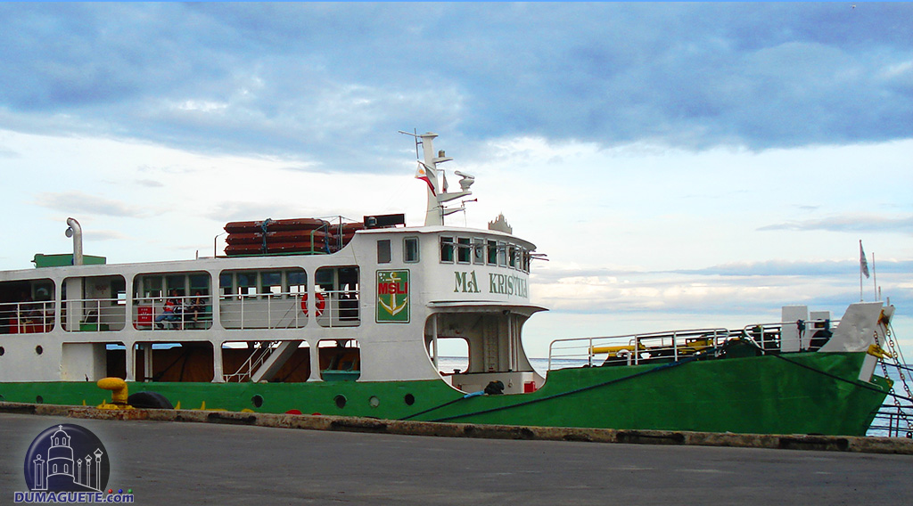 Getting to Siquijor - ferry boat