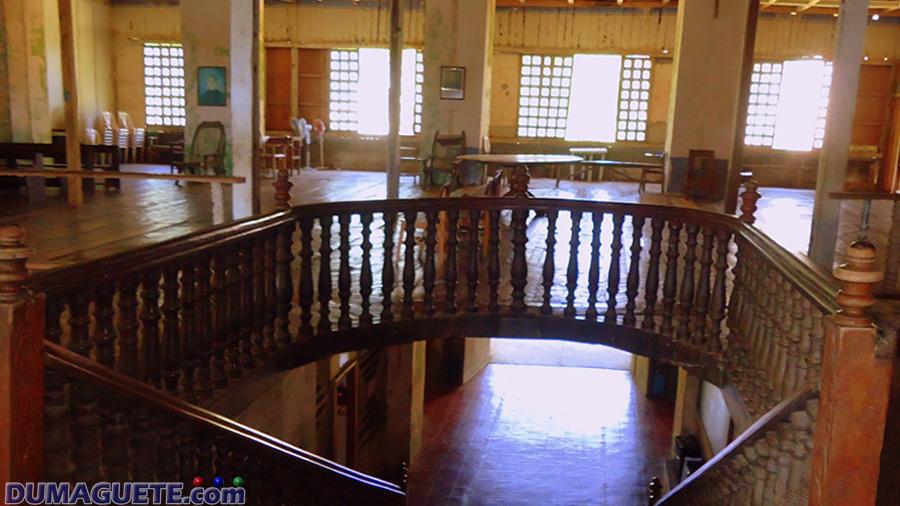 Lazi Convent Interior-Siquijor Island