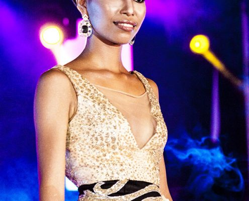 Miss Tanjay 2017 -Evening Gown