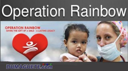 Operation Rainbow Mission in Dumaguete