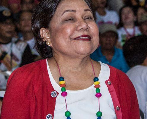 Philippine Senator Cintia Vellar