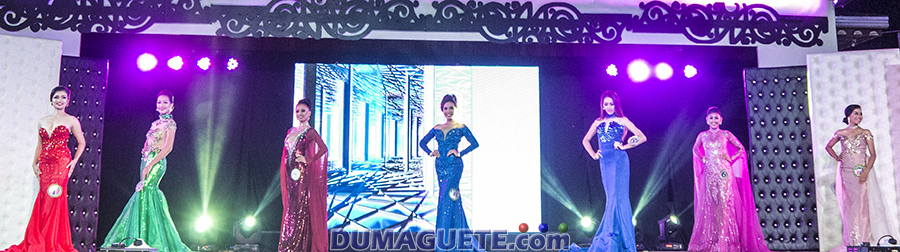 Miss Manjuyod 2017 -Evening Gown
