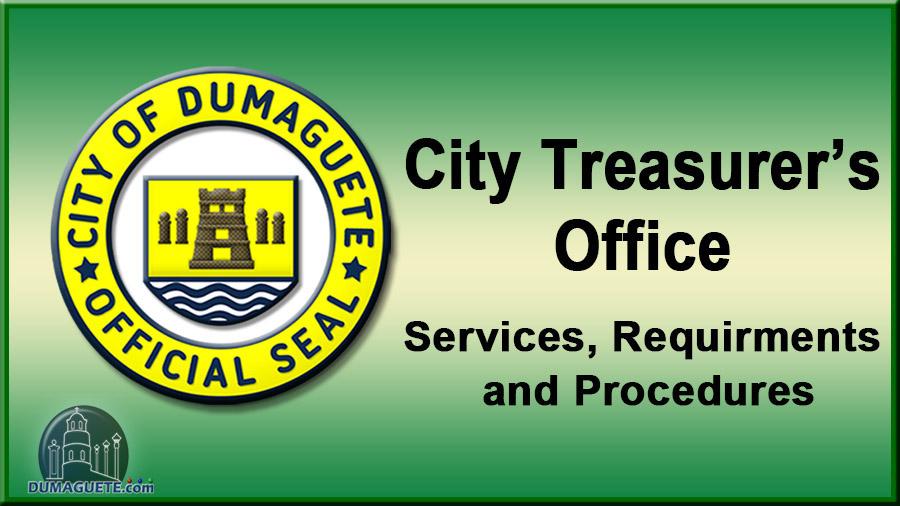Dumaguete City Treasurer's