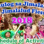 Sinulog sa Jimalalud Festival - Jimalalud Fiesta 2018 - Schedule of Activities
