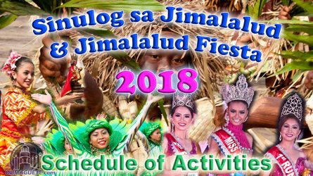 Sinulog sa Jimalalud Festival & Jimalalud Fiesta 2018 – Schedule