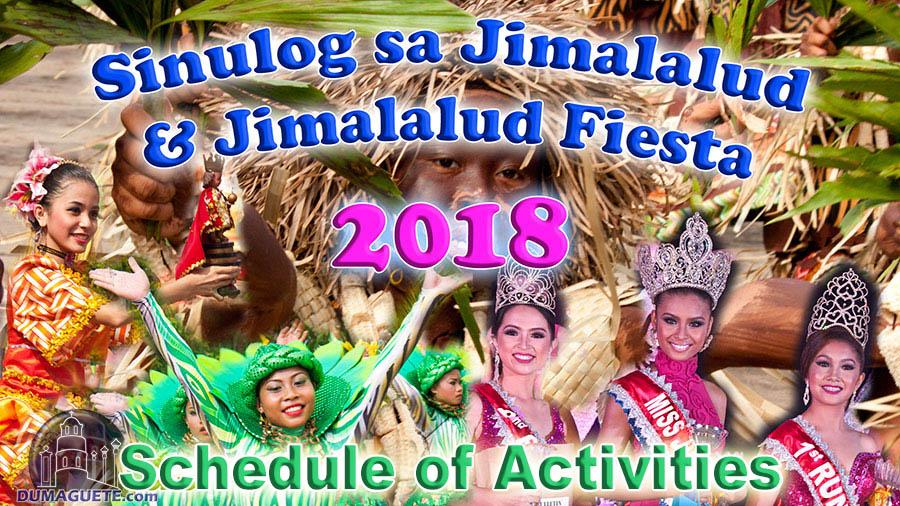 Sinulog sa Jimalalud Festival - Jimalalud Fiesta 2018 - Schedule of Activities