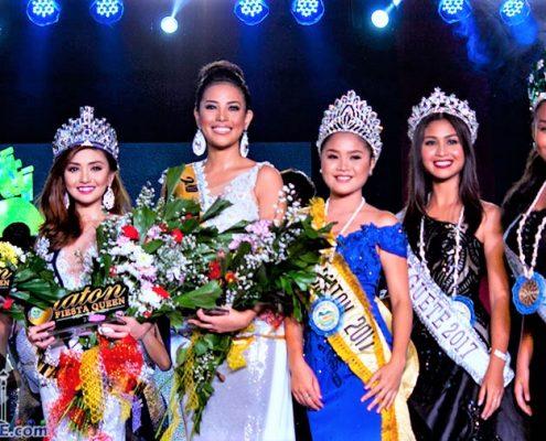 Miss Siaton Festival Queen 2017 - Winners
