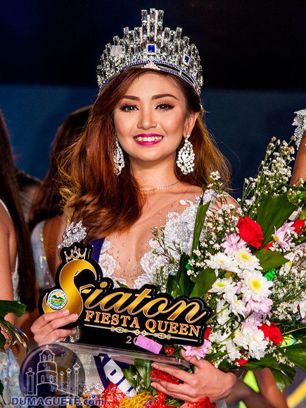 Miss Siaton Fiesta Queen 2017-Winner