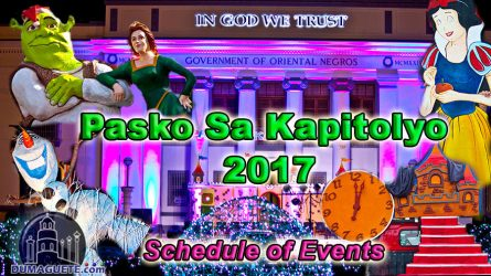 Pasko Sa Kapitolyo 2017 -Schedule of Events