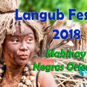 Langub Festival 2018 - Schedule of Activities