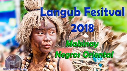 Langub Festival 2018 in Mabinay – Schedule of Activities