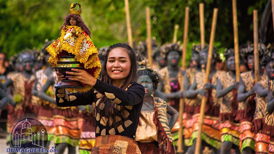 Sinulog Festival in Jimalalud 2018