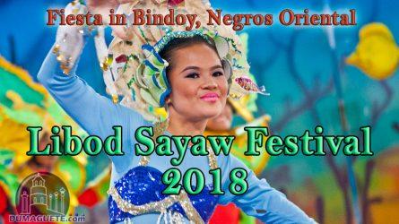 Libod Sayaw Festival 2018 – Schedule of Activities