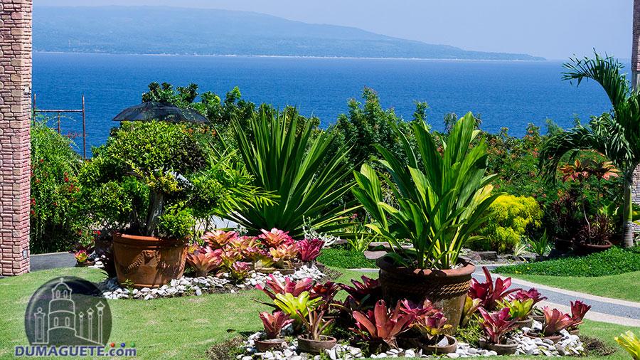 Ocean view at Mama Mary's Garden in Sibulan