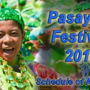 Pasayaw Festival 2018-Schedule of Activites