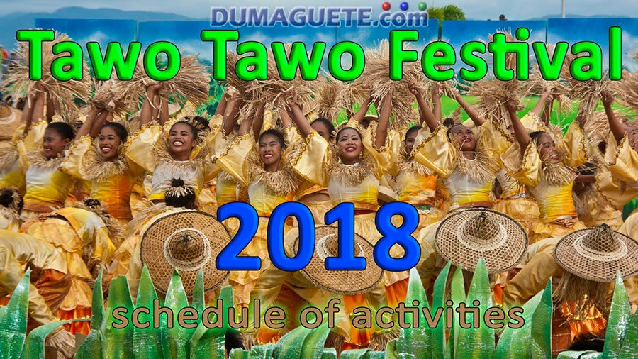 Tawo Tawo Festival 2018-Schedule of Activities