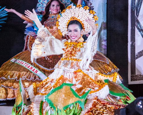 Miss BaMiss Basay 2018 - Festival Costumesay 2018 - Evening Gown