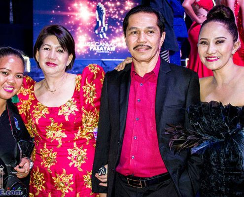 Miss Canlaon Pasayaw 2018 - VIP - Mayor Jimmy Jayme L. Clerigo & Wife