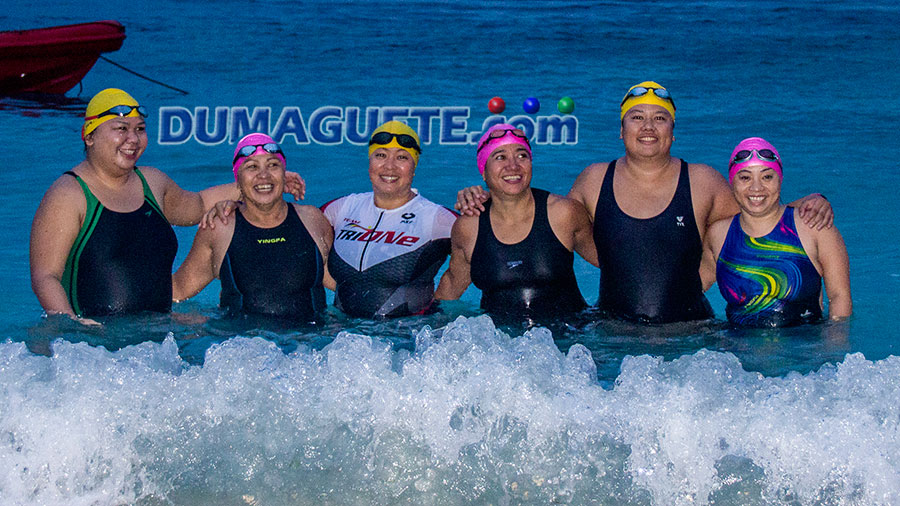 Ocean 6- Starts Swimming cebu to Negros Oriental
