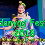 La Libertad - Pandanyag Festival 2018 - Schedule of Activities