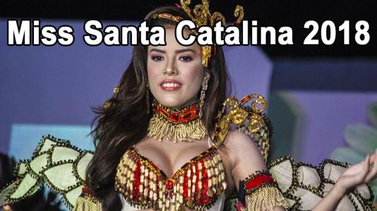Video of Miss Santa Catalina 2018