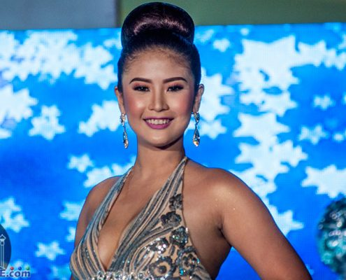Miss Santa Catalina 2018 in Evening Gowns