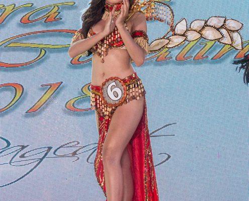 Miss Santa Catalina 2018 - Festival Costume