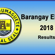 Dumaguete City-Barangay Elections 2018-Result