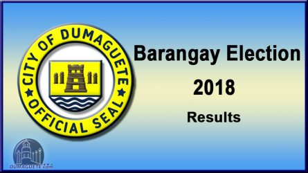Barangay Election 2018 – Result