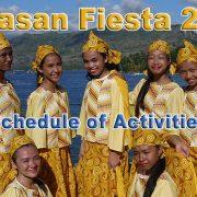 Tayasan Fiesta 2018 - Schedule of Activities - Negros Oriental