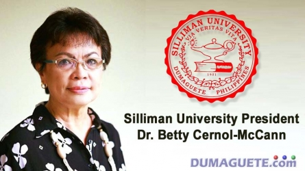 Silliman Universiy President Dr Betty Cernol-McCann