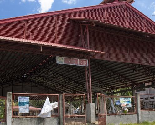 Dumaguete 2018 Barangay Talay Evacuation Center infront of Tayal Barangay Hall