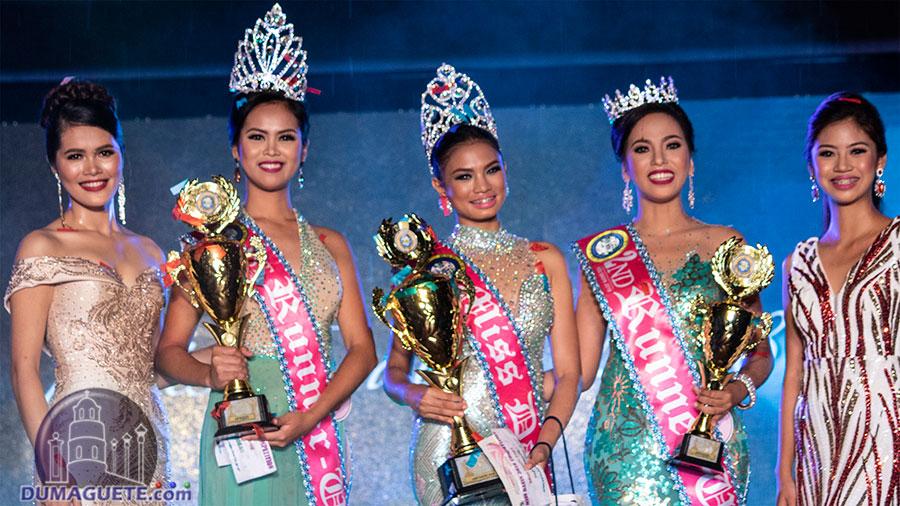 Miss Dauin 2018 - Winners