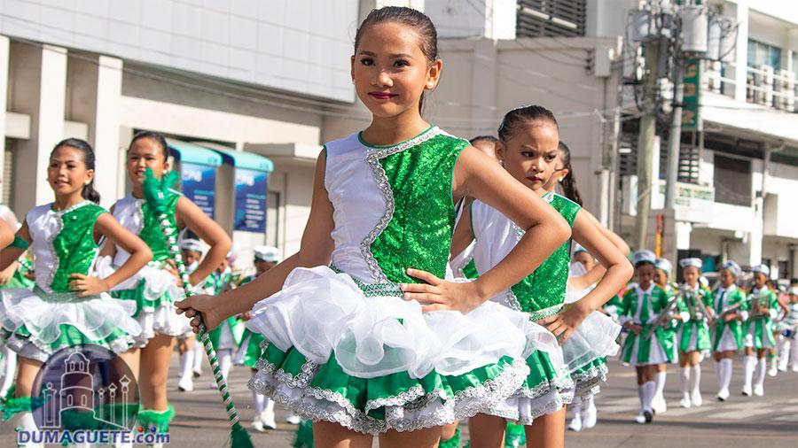Buglasan Festival 2018 - Opening Parade - Elementary Marching Band