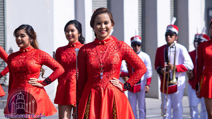 Buglasan Festival 2018 - Opening Parade - Silliman Univeristy Marching Band Parade