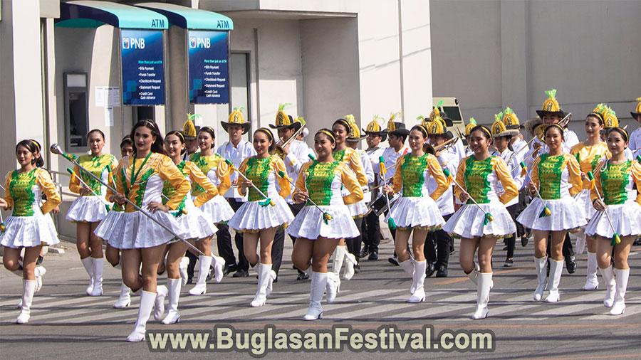 Buglasan Festival 2018 - Opening Parade - St. Pauls's University Marching Band