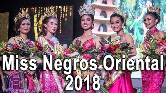Video of Miss Negros Oriental 2018